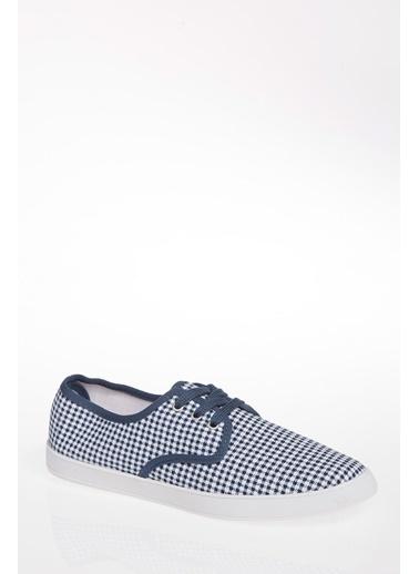 DeFacto Bağcıklı Ayakkabı Mavi